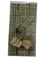 6 Set de Individual con Porta Vasos Bamboo