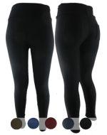 Calza Lisa Sin Costura Interior Piel x12 unds. Tallas: L/XL - XL/XXL