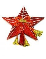 Estrella Navideña para Árbol x6 unds.