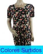 Vestido Floreado x 4 unds Tallas: M-L