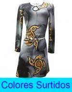 Vestido Dama Manga Larga T/ Sofia x2 Unds Talla: M y XL