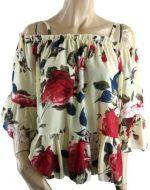 Blusa de Dama con Vuelo  x 4Unds Talla: Standar