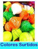 Trompo De Colores N°6 x12 Unds