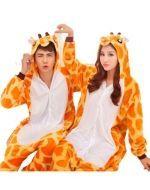 Pijama de Jirafa Unisex x 3 Unds - Talla: S - XL