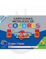 x3 Pack de Cartulina Metalica