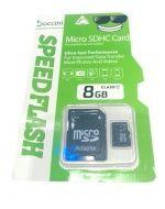 Memoria Micro SD 8GB Boccin x 3 Unids.