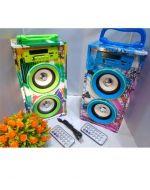 Parlante con Bluetooth, Radio Stereo FM, Sd, USB x 3 Unds.