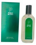 Perfume de Hombre Pablo For Men  x 6 Und. Medida : 80ml.