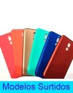Carcasa Lisa Tpu  Iphone Android x 3 Unds.