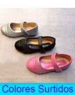 Zapatos de Niña x 24 Pares. Talla: 21 al 25