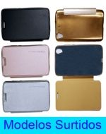 Carcasa Flip Cover Liso Mate Iphone  x 3 Unds.