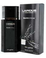 Perfume de Hombre Lapidus Black Extreme x 1 Unds. Medida : 100ml.