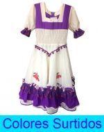 Vestido Huasa x 12  Unds. Tallas: S- M- L(14-16)