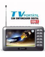 Televicion Portátil con Sintonizador Digital Usb CD Radio   x 3 unds.