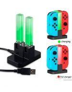Dock de Carga Para Joystick de Nintendo Switch  x 3 unds.