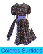Vestido de  Huasa  x  6 Unds. Tallas: S a la XL