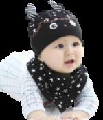 Gorros y Baberos de bebé