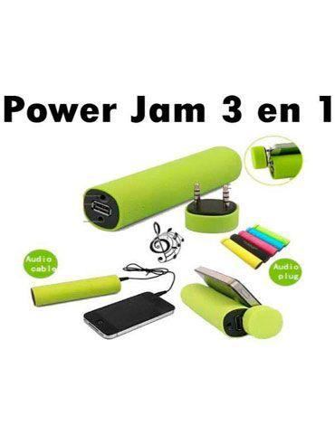 Power Jam 3 in 1. x 4 Und.