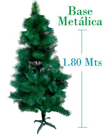 Árbol de Navidad x 2 unds. Medida  : 1.80 Mts aprox.