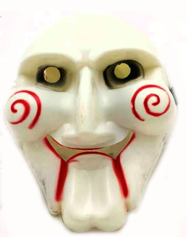 Mascara de Plástico  Halloween x 12  Unids