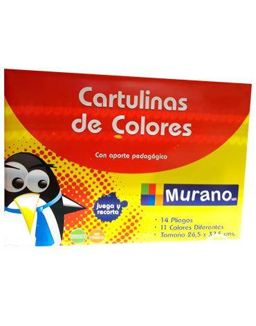 x 6 Pack Cartulinas de Colores . Medida: 26.5 x 37.5 cm aprox.