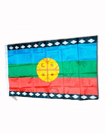 Bandera Mapuche x 6 Unds Medidas : 87 x 1.44 cm aprox.
