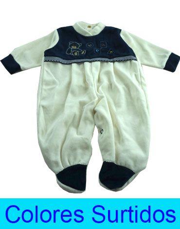 Enterito Plush Niño  x 3 unds. Talla: de 0 a 3 meses