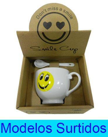 Set Taza para Café con Diseño de 12x12 cm  x6 unds.
