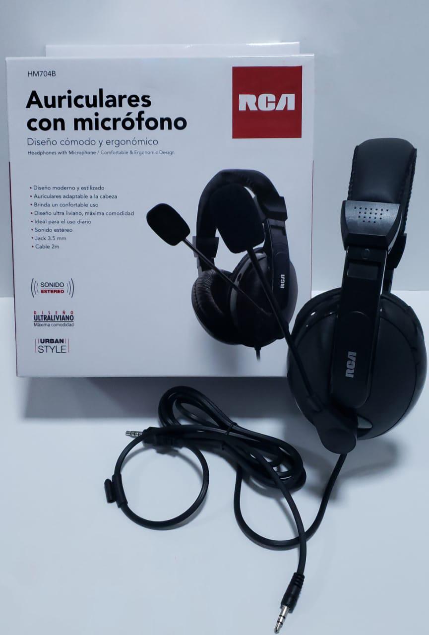 Audífonos con micrófono para PS4 y PC x 4 Unids.