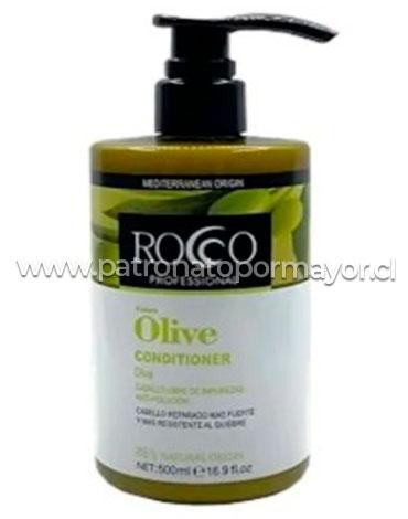 Acondicionador ROCCO Olive Profesional 500 ml x 3 unid