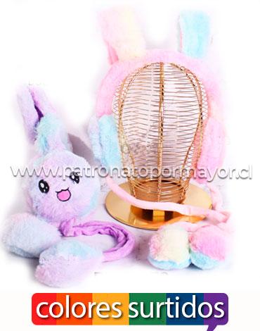 Orejeras Móviles Conejo x 12 Unidades