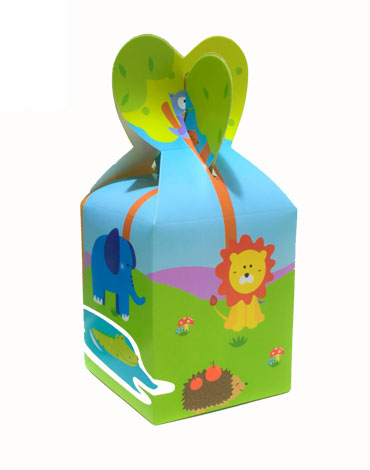 Caja de Dulces de Animalitos x 12 Unds.