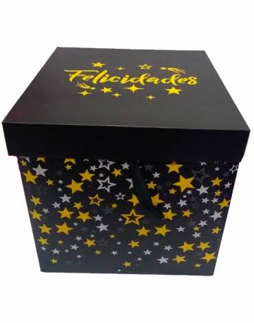 Caja de Regalo x 12 Unds. Medida: 30 x 30 cm Aprox.