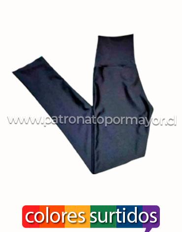 Calza tela dupont  Color Negro x 4 Unds. Tallas: XL