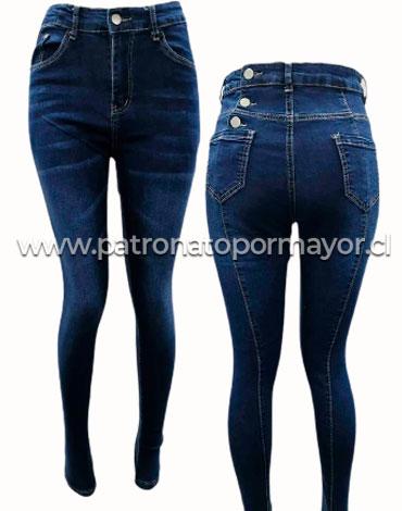Jeans para Dama x 12 Unds. Tallas : 36 - 46