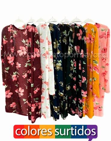 Kimono Dama Largo x 4 Unds. Talla: Standard