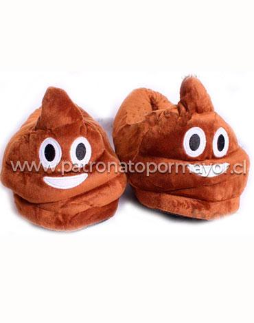 Pantufla Poop Dama x 6 Pares Talla: Grande