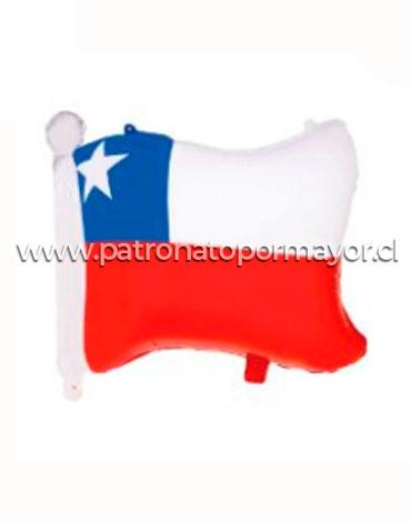 Globo Metalizado Chile Fiestas Patrias x 6 Unidades .Medida: 64 x 56 Cm