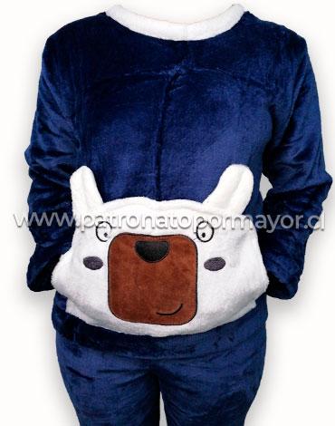 Pijama de Niño Plush x 4 Unidades Tallas: 12 - 14 - 16 - 18