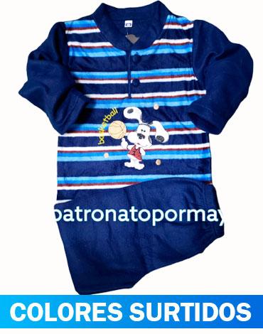 Pijama de Niño Polar x 5 Unidades Tallas: 2 - 4- 6 -8 -10