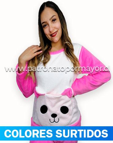 Pijama de Dama Plush x 4 Unidades Talla: Standar