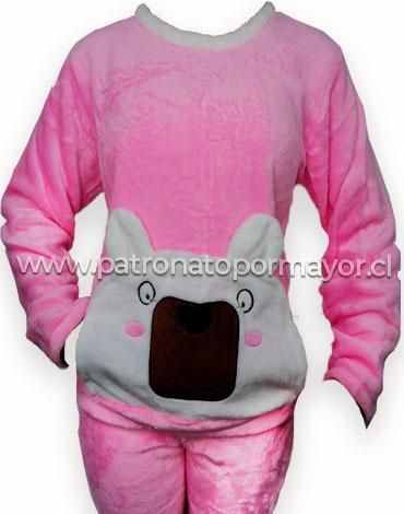 Pijama de Niña Plush x 4 Unidades Tallas: 12 - 14 - 16 - 18