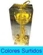 Porta Velas  Copa Grande x 4 Unds. Medida : 16 x 6 cm aprox.