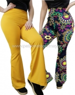 Calzas Pata Elefante (9 Modelos) x 4 Unds. Colores Surtidos