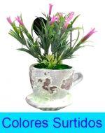Adorno Floral x 4 Unds