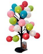 Arbol de Colores x 3 Unds. Medida: 47 cm.