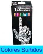 Caja de Colores Metalizado x 6 Cajas.