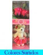Set de Rosas x4 Set. Medida: 28 cm aprox.