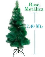 Arbol de Navidad Plastico B. x 4 unds.