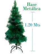 Arbol de Navidad de Fibra x 3 unds.Medidas : 1.20 mts
